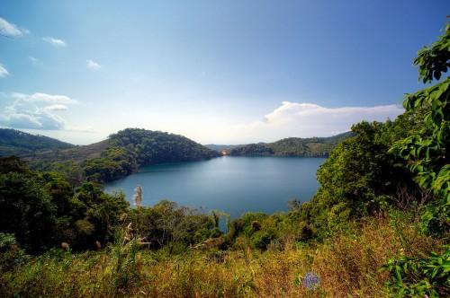 Laos : NongFa lake in Laos