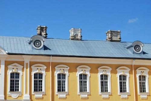 Lettonie : Lettonia, palazzo Rundale