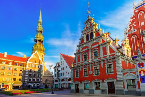 Lettonie : Vieille ville de Riga, Lettonie