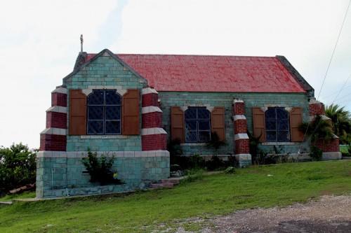 Liberta : The First Anglican Church in Antigua