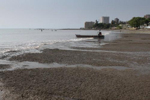 Libreville : trashed beaches of Libreville