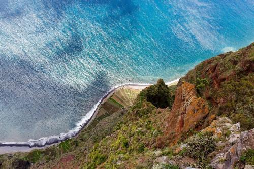 Madère : la falaise vertigineuse de Cabo Girão à Madère