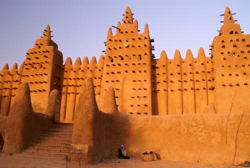 Mali : Grande mosquée de Loam à Djenne