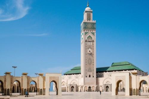 Maroc : La mosquée Hassan II à Casablanca
