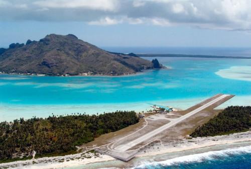 Maupiti (îles Sous-le-Vent) :