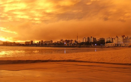 Montevideo : Montevideo skyline