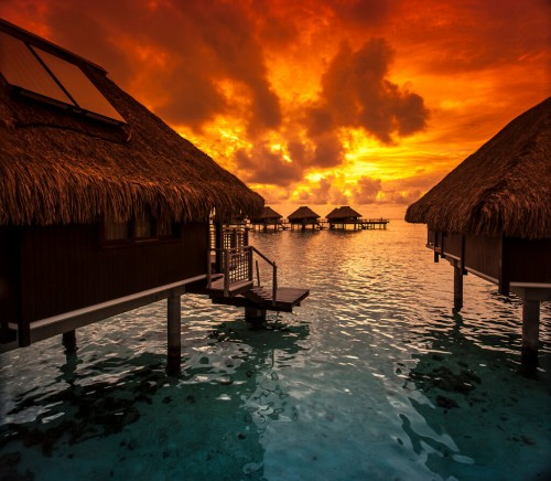 Moorea : Hilton Moorea, Tahiti
