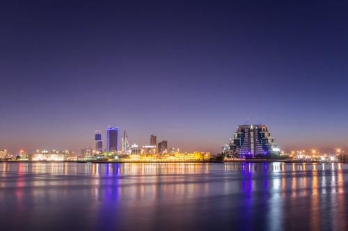 Bahreïn : muharraq @ night
