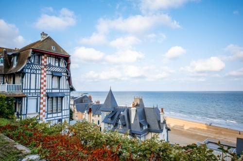 Normandie : Trouville en Normandie