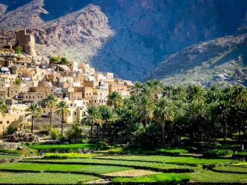 Oman : Le village montagneux de Bilad Sayt