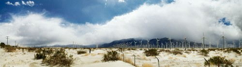 Palm Springs : Windmills, Palm Springs