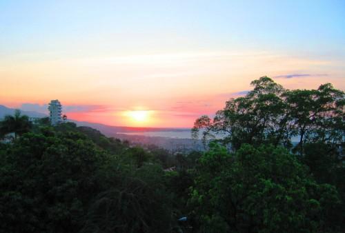 Port-au-Prince : Sunset Port-au-Prince