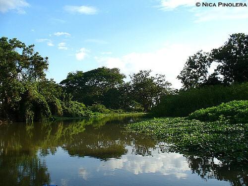 Rivas : Rio Istian in Rivas, Nicaragua