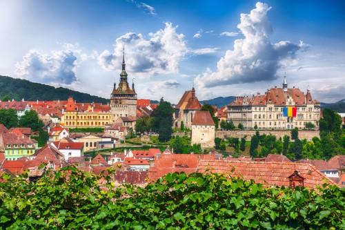 Roumanie : La ville historique de Sighisoara en Transylvanie