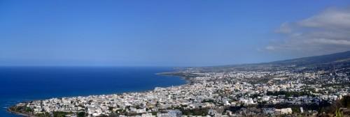 Saint-Denis : Panorama Saint Denis De La Réunion