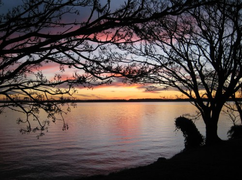 Salto : Enjoying a sunset in Salto, Uruguay