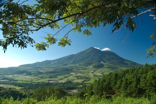 Salvador : Le volcan San Vicente