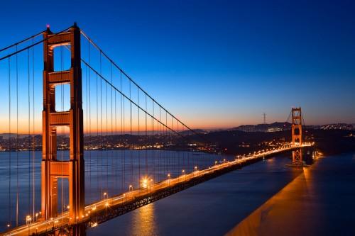 San Francisco : Golden Dawn Bridge - HDR