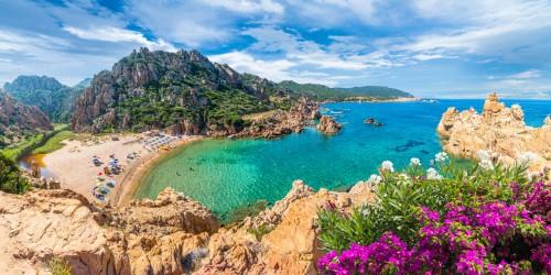 Sardaigne : Plage di Li Cossi, Costa Paradiso