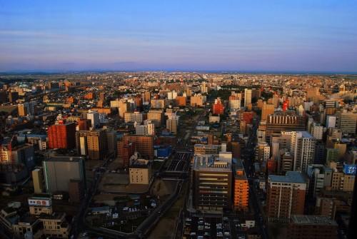 Sendai (Honshu) : Sendai view