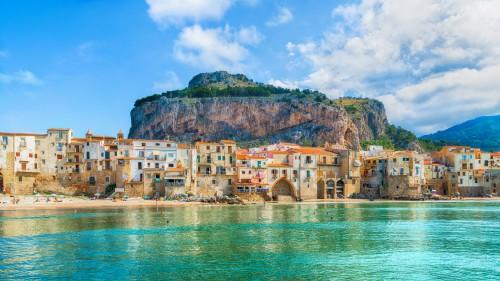 Sicile : Le village médiéval de Cefalu