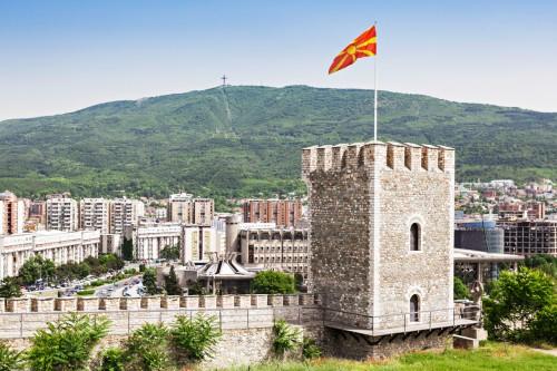 Forteresse de Kale à Skopje