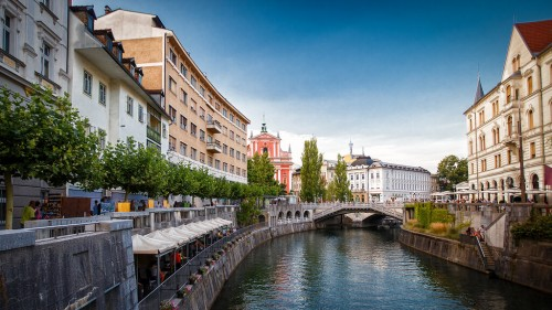 Slovénie : Ljubljana, la capitale de la Slovénie