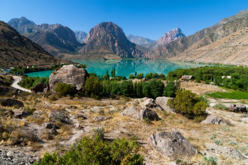 Tadjikistan : Lac Iskanderkul