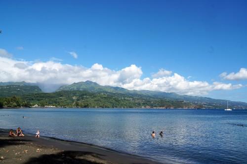 Tahiti : Plage de la Pointe Venus