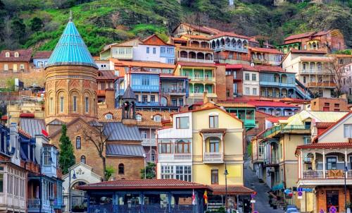 La vieille ville de Tbilissi