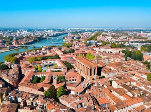 Église jacobine à Toulouse