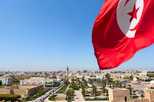 Tunisie : Vue panoramique sur les rues Monastir