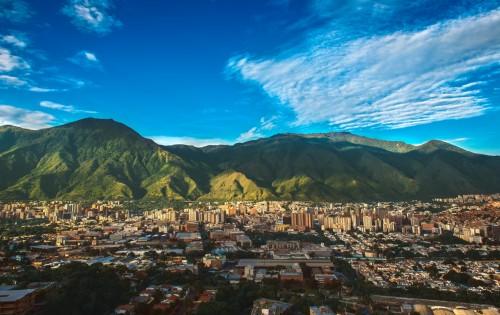 Venezuela : Vue sur Caracas, la capitale du Venezuela