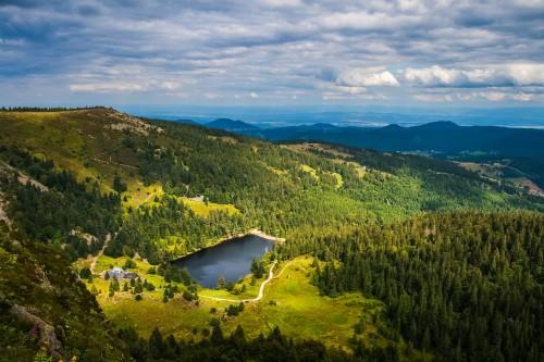 Lac du Forlet dans les Vosges