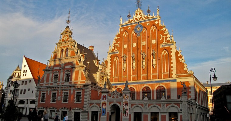 Riga : Riga Schwarzhäupterhaus