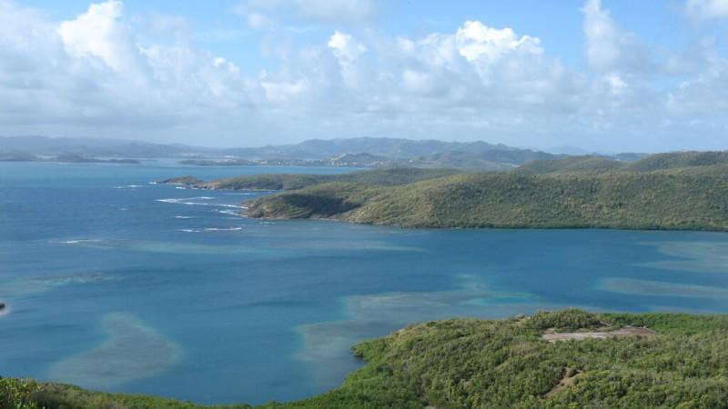 La presqu'île de la Caravelle