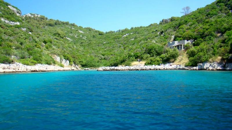 L'île de Ugljan (archipel de Zadar)