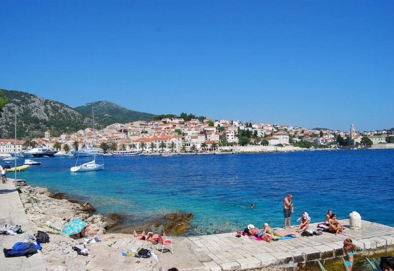 Les Îles croates (Hvar, Brac,Mljet...)
