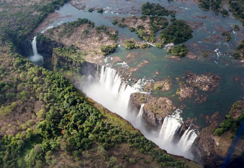 Les Chutes Victoria (Zambie)