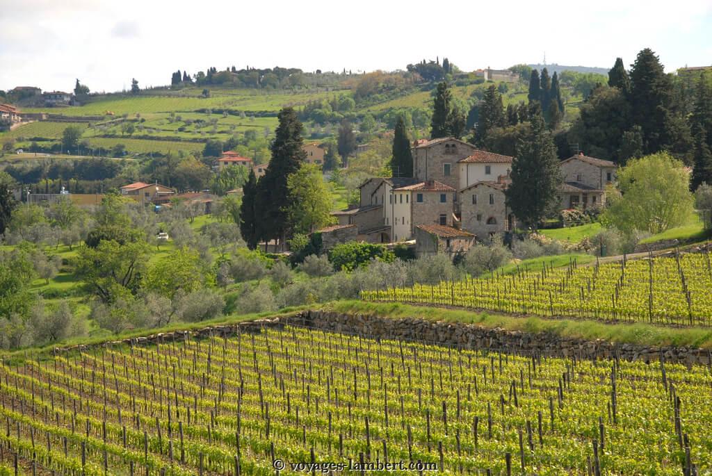Toscane : Paysage de Toscane