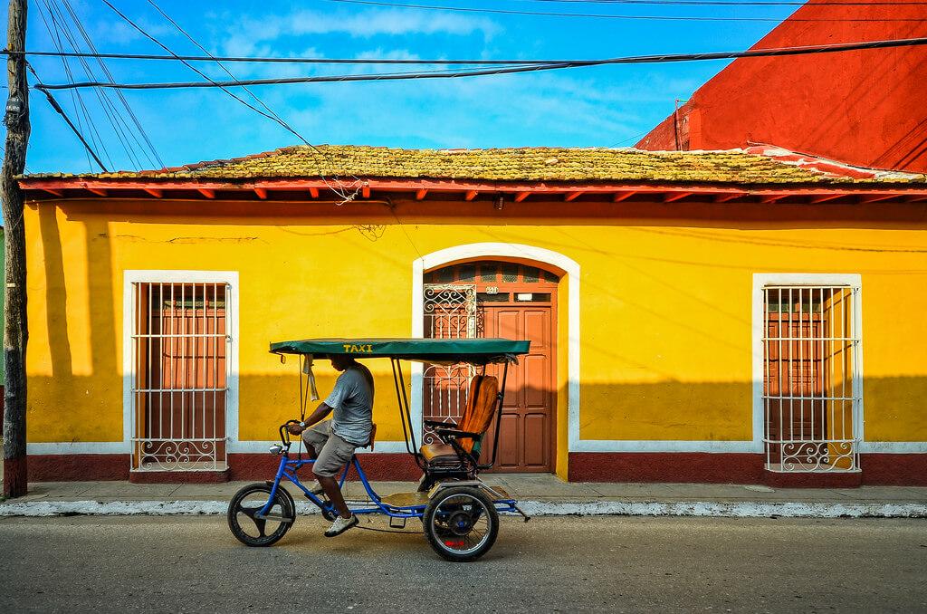 Trinidad : Taxi In Trinidad