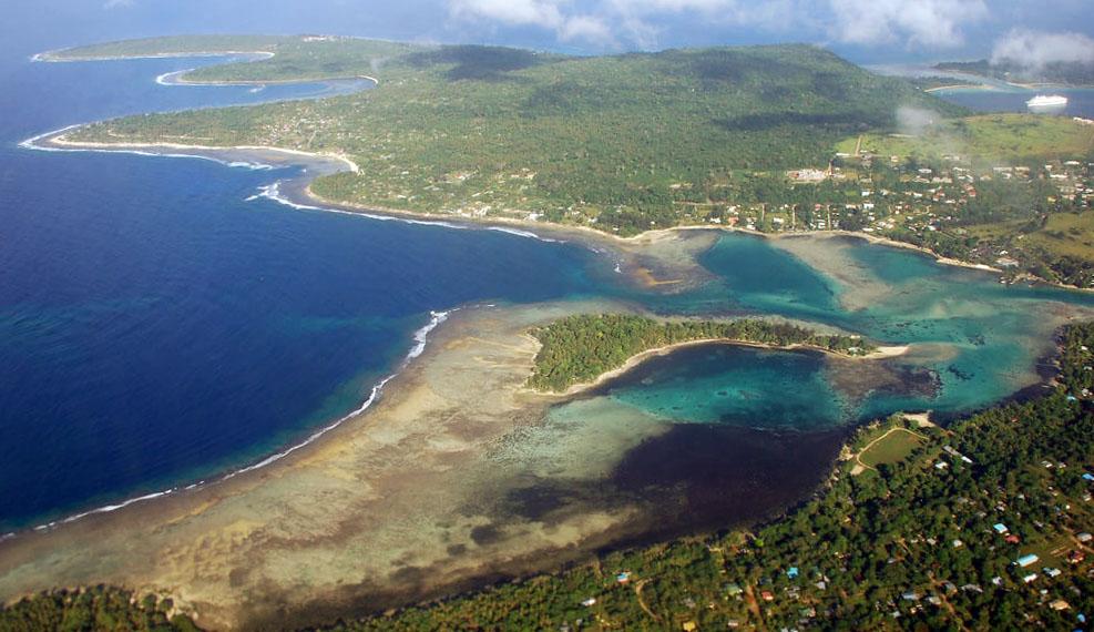 Vanuatu : Erakor Island Resort, Efate, Vanuatu, 29 Nov. 2006