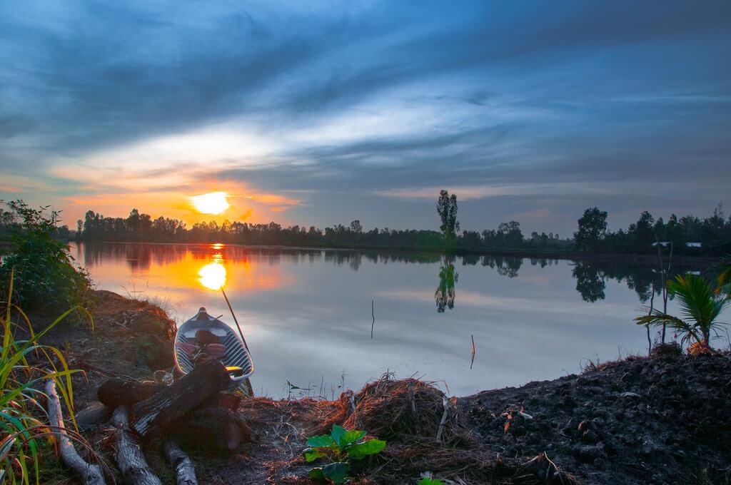 Vietnam : Morning. baclieu Vietnam