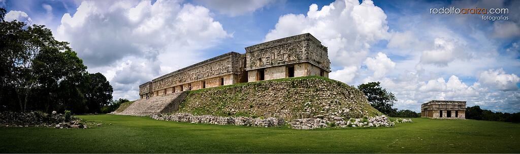 Yucatan : Palacio del Gobernador, Uxmal...
