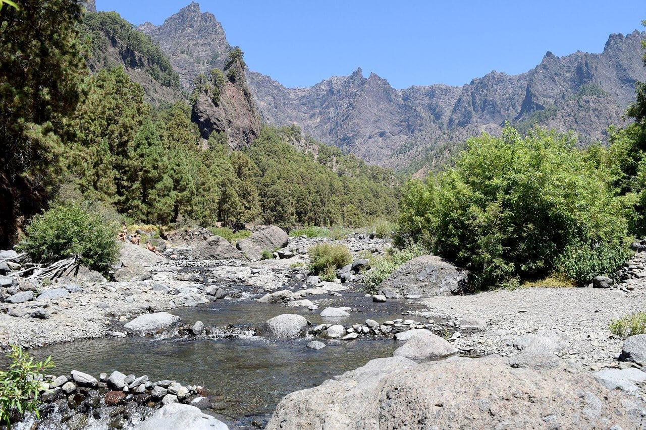 Paysage de La Palma