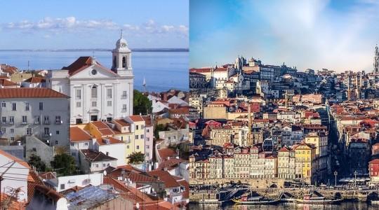 Comparatif Porto ou Lisbonne : laquelle de ces grandes villes portugaises privilégier pour des vacances ?