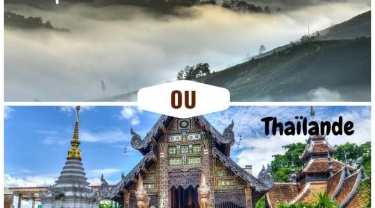 Thaïlande ou Vietnam : Que choisir ? Où partir ? Le comparatif pour décider