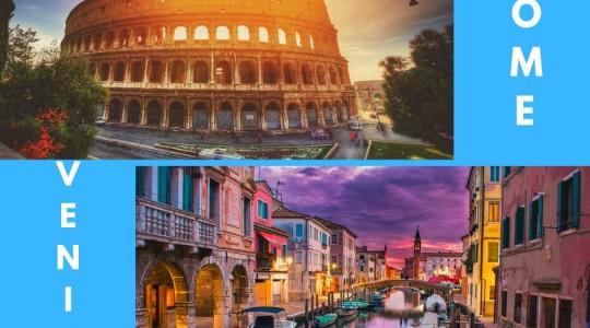 Rome ou Venise : le comparatif ultime pour choisir où partir